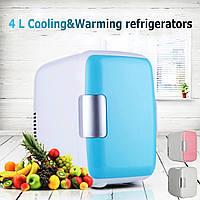 Мини-4L портативный холодильник холодильник с морозильной камерой кулер теплее автомобилей домашний офис