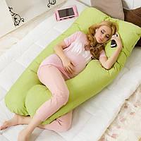 Honana WX-8396 Удобная Беременность U Tyle тело Подушка для женщин Лучшей для Сайд Спящего Removable