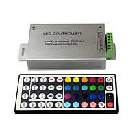 Пульт дистанционного управления для полосы света DC12-24V IR 24а RGB LED 44 ключ