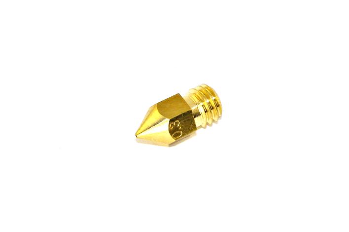 Сопло нагревательного блока хотэнда MK7/MK8 0,3 мм, фото 2