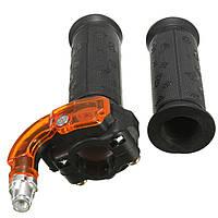 Крутить рукоятку дроссельной заслонки 3 ступени набор для 47cc 49cc 125cc мини-мото велосипед грязи четырехъядерных квадроцикла