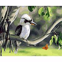 40X50см птицы на дереве картины поделки ручной работы самостоятельной краски комплект дерева неструктурированного украшения дома