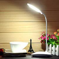 Гибкая перезаряжаемые затемняемый USB LED свет ночи у постели больного для рабочего чтения настольная лампа