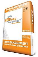 Цемент ЕU ПЦ I/ПЦ-500-Н 25кг Евроцемент 1/40