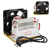 220v 10 г / ч генератор озона керамическая плита очиститель воздуха стерилизатор вентилятор машина
