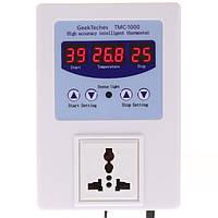 TMC-1000 LED Цифровой интеллектуальный предварительно проводной регулятор температуры термостат отопления охлаждения переключатель управле