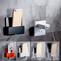 Настенный держатель с подзарядкой клей телефон подставка прочный зарядное крепление для iPhone Ipad Samsung Xiaomi сони