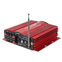 Kinter MA200 аудио усилитель сабвуфер Автомобильный MP3 спикер USB SD FM HiFi 4-х канальный