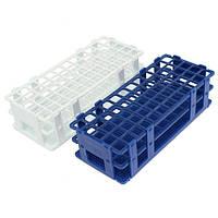 3 слоя 60 отверстий пластиковые пробирки держатель стойки белый / синий