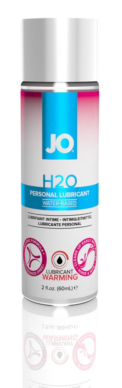 Лубрикант на водной основе System JO FOR WOMEN H2O - WARMING (60 мл)