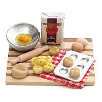 Масштаб 1/12 кукольный миниатюрная кухонные принадлежности еды мебель для домашнего декора