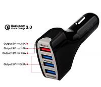 Автомобильное быстрое зарядное USB Quick charge 3.0