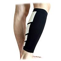 Спортивная поддержка сжатия носки колена рукав теленка ногу Brace Protector баскетбол охранник