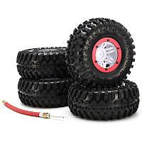 Austar 4шт покрышки колес раздуть beadlock пневматический 3021rd шины для автомобиля 1/10 гс
