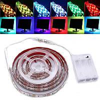 30/50/100/150/200см затемняемый 5050 RGB LED полосы света USB TV фоновое освещение DC5V