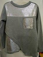 Теплый свитерок с напылением для девочки (128-158р) d8452a41d0d1c