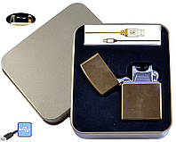 Электроимпульсная USB зажигалка 4839