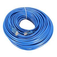 Разъем интернет сети LAN кабель RJ45 сетевой кабель для cat5e cat5 RJ45 25m синий cat5 65ft