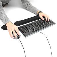 Клавиатура запястий коврик и мышь запястье поддержки остальной мягкой пены памяти эргономичные