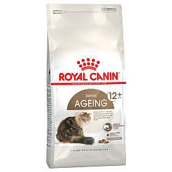 Royal Canin (Роял Канин) AGEING 12+ Сухой корм для стареющих кошек старше 12 лет, 400 г