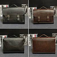 Ретро мужчины сумки PU кожаные сумки мужчины случайные бизнес-ноутбук сумка сумки посыльного офиса сумка