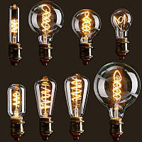 E27 затемняемый початок LED старинные ретро промышленного Edison лампы внутреннего освещения AC110V свет лампы накаливания