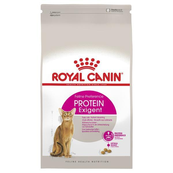 Корм Royal Canin (Роял Канин) EXIGENT PROTEIN для кошек привередливых к составу продукта 10 кг