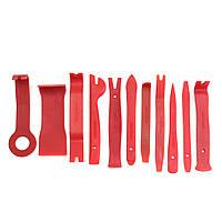 11pcs уплотнение для снятия обшивки с помощью бруса дверной панели интерьера клип комплект ручной инструмент для снятия