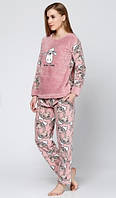 Женская плюшевая пижама Турция
