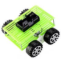 Маленькая игрушка автомобильный комплект ручной сборки материал пакет четыре колеса для детей