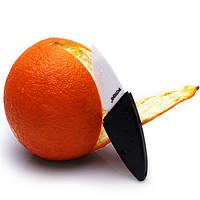 Портативный мини-форма листа керамический нож карман открытый фруктов нож керамический нож нож для очистки овощей Парер