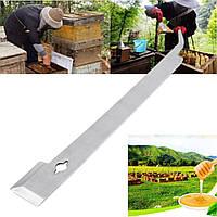 11-дюймовый нержавеющей стали Пчеловод J крюк Пчеловодство Улей инструмент распечатывания Нож Крюк - 1TopShop