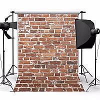 1.5x2.1m фотографии винил фон носить красная кирпичная стена студийный фон