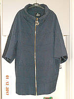 Пальто нарядное с укороченным рукавом 64 размера, фото 1