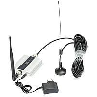 2G GSM 900mhz LCD Ретранслятор сигнального усилителя сотового телефона Усилитель Набор с Sucker Антенна
