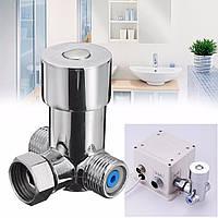 Горячей и холодной термостат температуры клапан смесительный клапан регулирующий клапан латунный кран