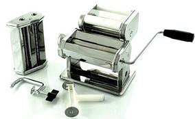 Локшинорізка - тестораскатка ручна, апарат для приготування спагетті Ronner TW 33 3 в 1
