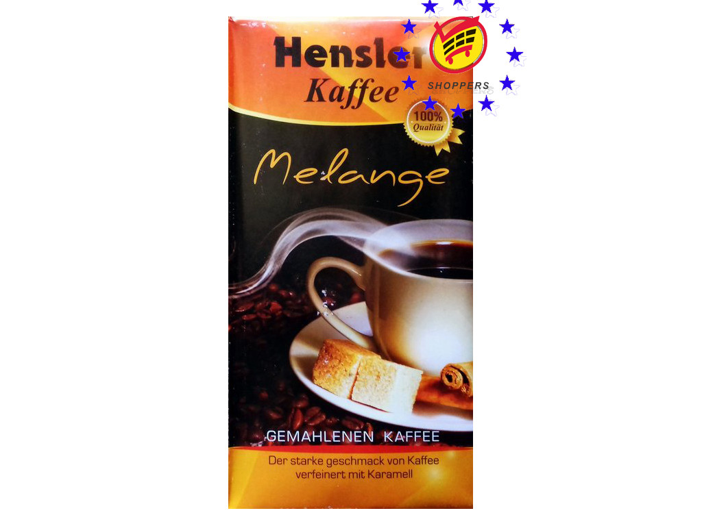 Кофе молотый Hensler Kaffee Melange 500г