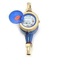 1 / 2inch 15-миллиметровый измеритель расхода воды Устройство измерения латуни Счетчик холодной воды