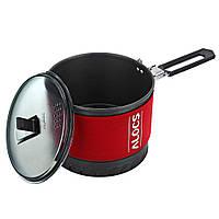 ALOCS 1-2 человек 1.4 л быстро отопление горшок кемпинг пикника рубашкой чайник кухонная посуда