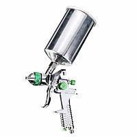 1,4 мм 1L HVLP Gravity Feed Spray Gun Автокраска Грунтовка Металлическая хлопья с регулятором