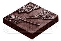 "Форма для шоколада ""Листья"" 27х13,5х2,4 см., 10 шт. Chocolate World"