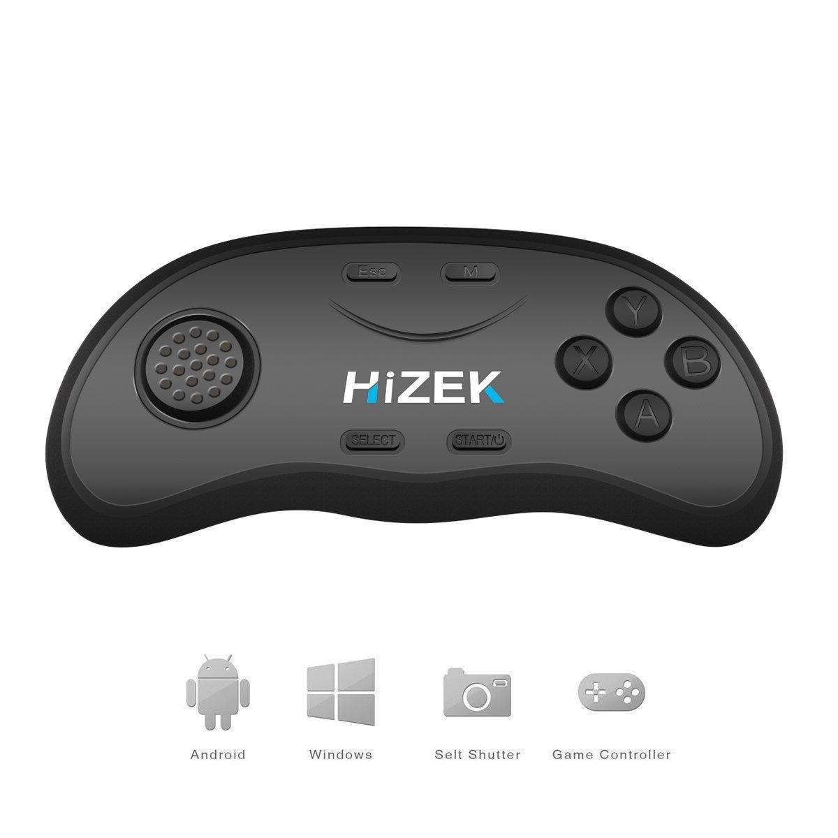 Hizek HZ-RC2 Bluetooth пульт дистанционного управления беспроводной геймпады мыши музыкальный проигрыватель для Ios андроид ПК 1TopShop