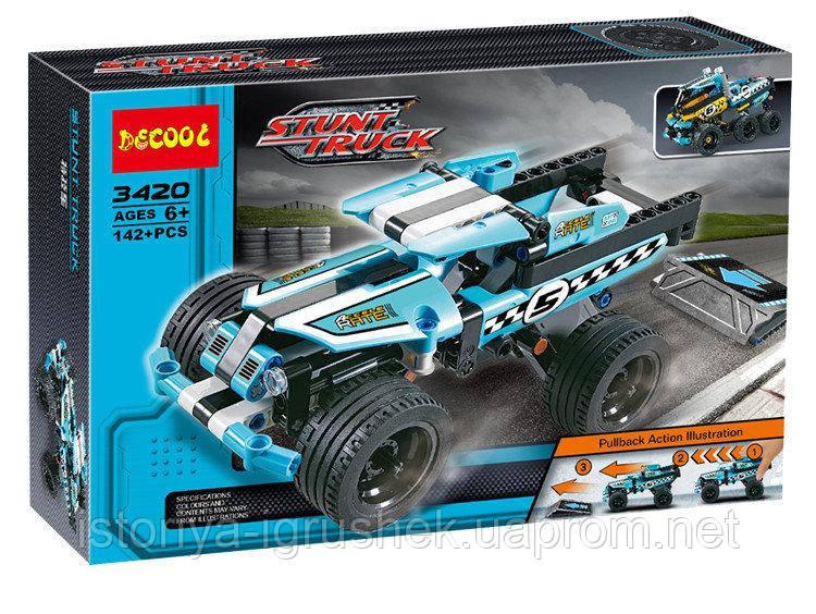 Конструктор Decool 3420 (аналог Lego Technic 42059)