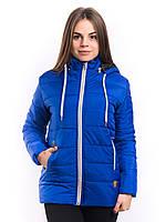 Куртка синяя женская на синтепоне   K1225