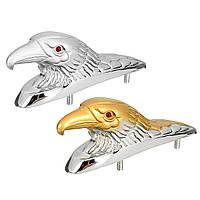 Голова глаза матовый капот орнамент статуя Eagle мотоцикл переднее крыло