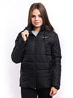 Куртка женская черная интернет магазин K1225