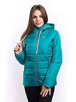 Куртка женская с капюшоном теплая на синтепоне  K1225