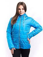 Куртка женская голубая на синтепоне K1225