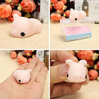 Розовый поросенок Squishy Squeeze Свинья Симпатичные игрушки Исцеление Kawaii Коллекция снятие стресса подарка Декор